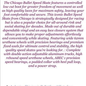 Chicago Other - Chicago Bullet Men's Skates